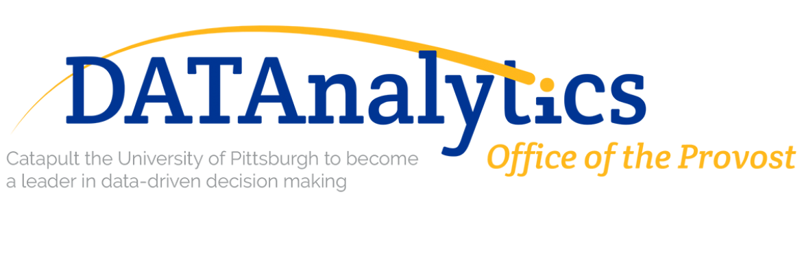 Data Analytics  Office of the Provost graphic image