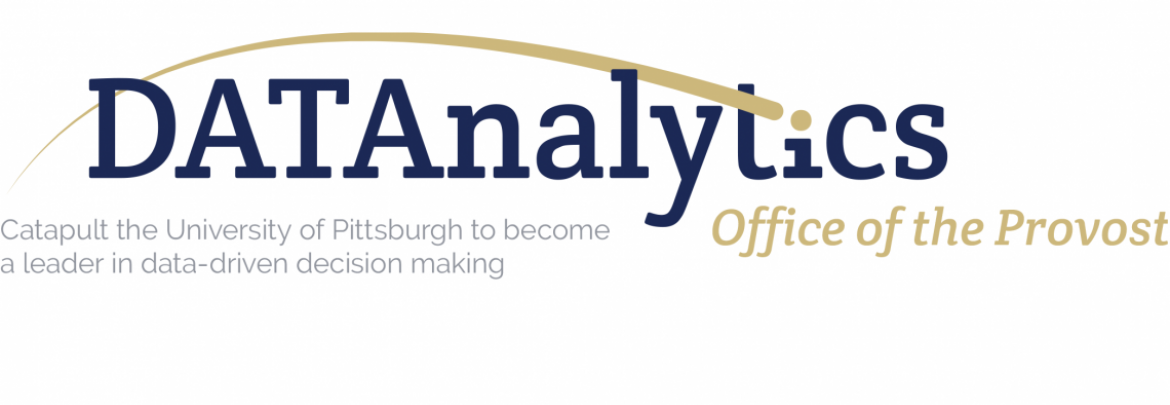 A logo for Data Analytics at the Office of the Provost